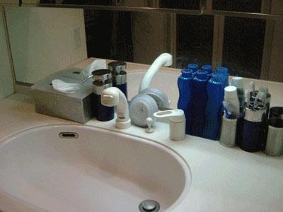 洗面台の小物